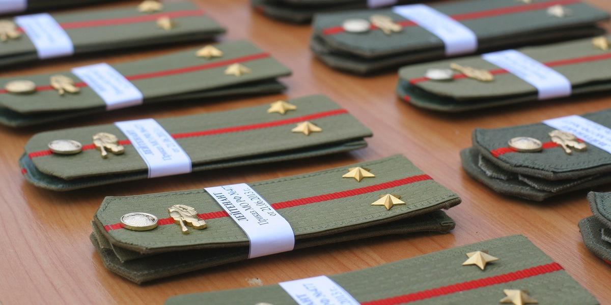 поздравление с первым офицерским званием лейтенант